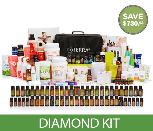 doterra essential oil diamond kit