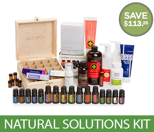 doterra natural solution kit